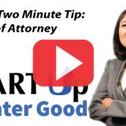 2-Minute Tip: Durable Power of Attorney