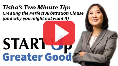 2-Minute Tip: How to Create the Perfect Arbitration Clause (and why you may not want it)