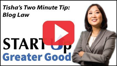2-Minute Tip: Blog Law
