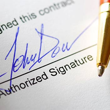Is Your Contract Legally Binding?  Are You Sure?