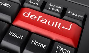 business law default judgment