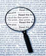 commercial lease fine print