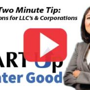 2-Minute Tip: Which is Best: LLC or S Corp?