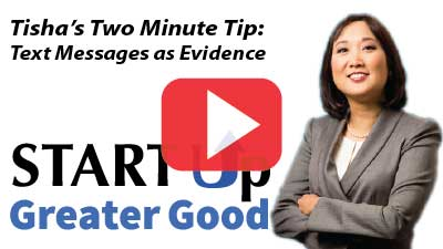 2-Minute Tip: Using Text Messages to Win Your Court Case