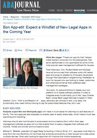 Why Your Lawyer is the Mikey of Legal Apps